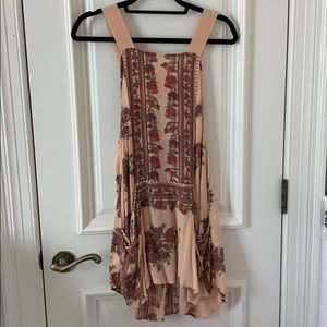 Tops - Free People Floral Tunic